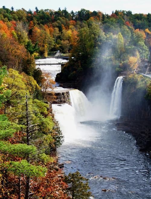Ausable Chasm in Fall