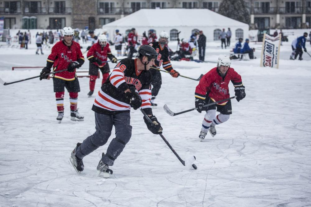 The CanAm hockey tournament