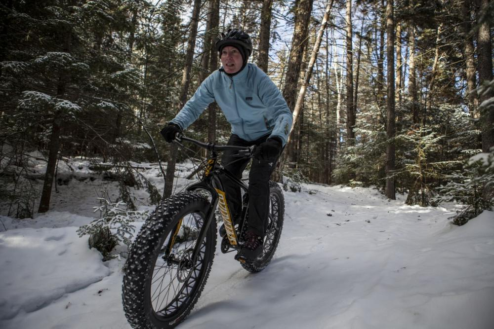 Hit the snowy trails on two-wheels this year!