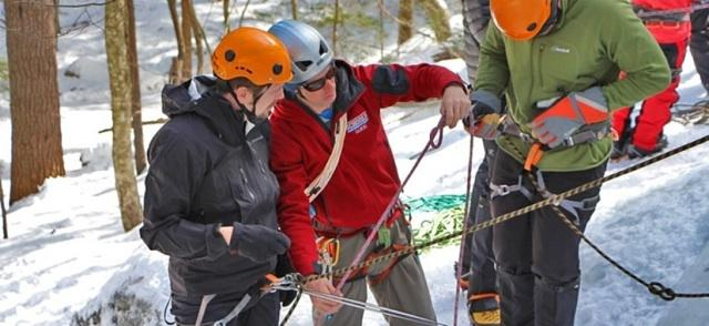 Ice Climbing Instruction