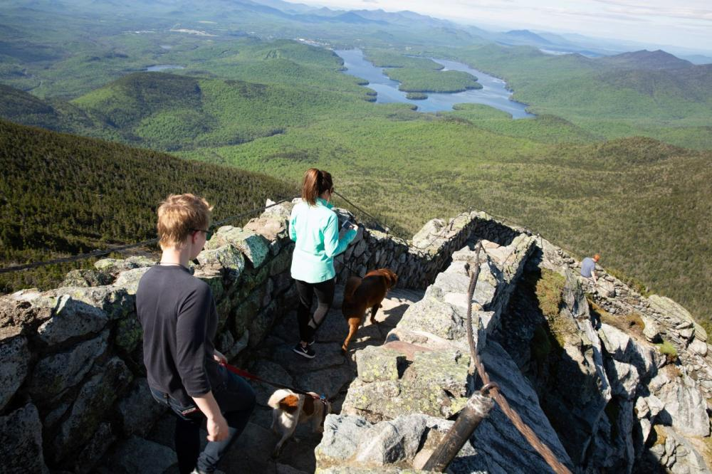 The view from Whiteface.