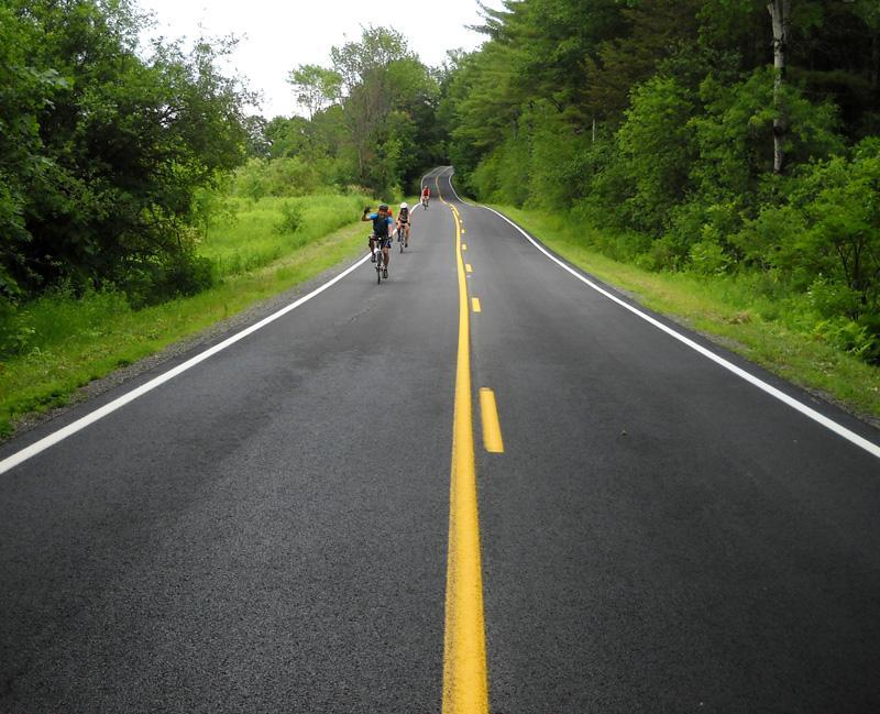 Lake Champlain Region cyclists