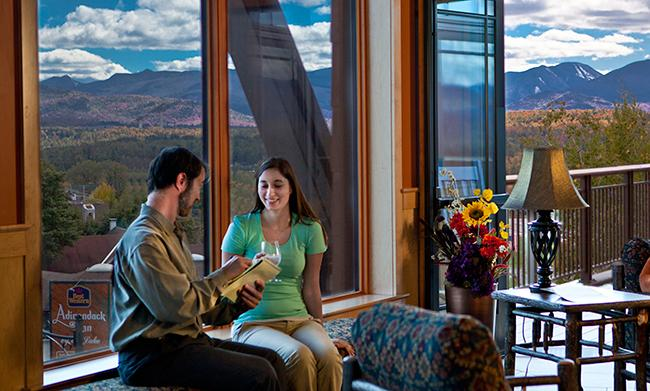 Knowledgable staff helps plan your wedding at the Conference Center in Lake Placid