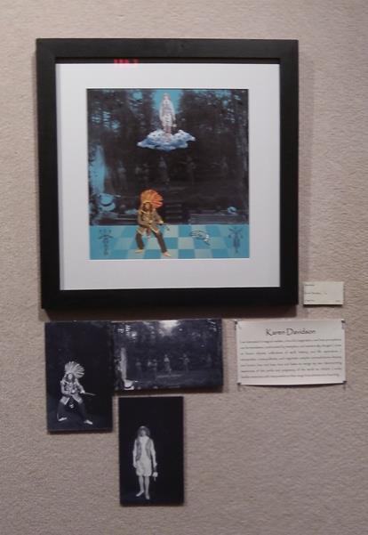 Karen Davidson piece in Reimaging Art Show