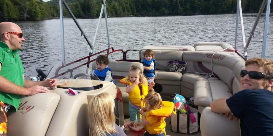 Boating in the Adirondacks