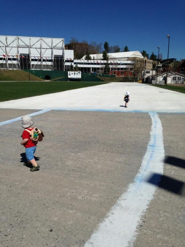Olympic Oval kids fun
