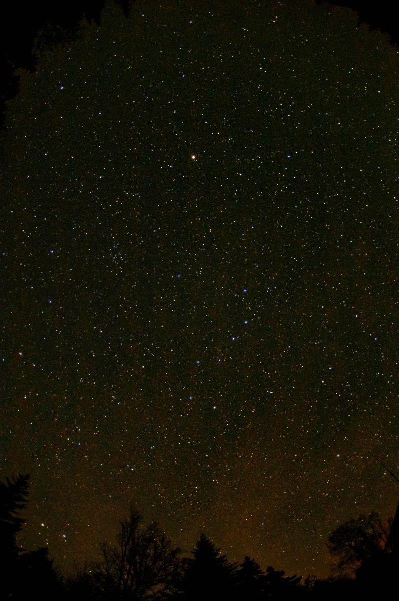 The stars at night, infinite space.