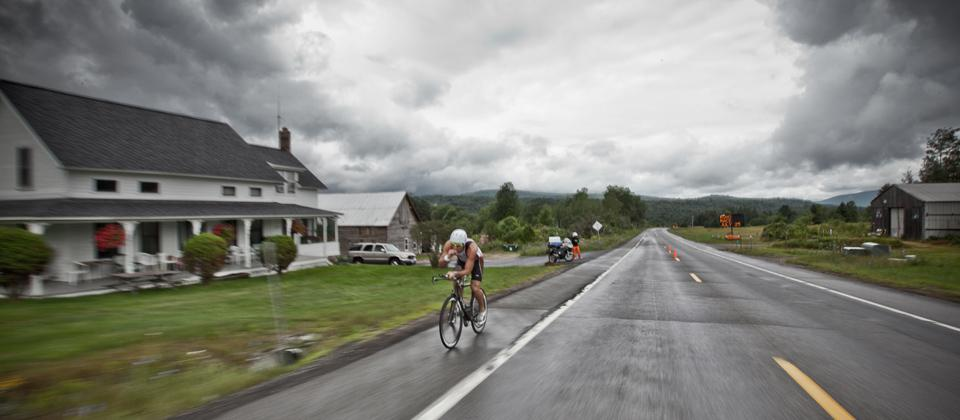 The elevation change in the climb out of Lake Placid can be quite deceiving.