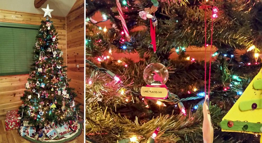 A tree full of Lake Placid holiday memories