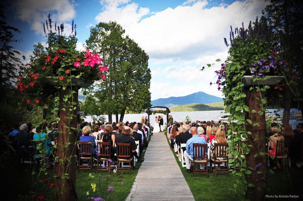 Award winning venue, The Whiteface Club & Resort, The Knot's