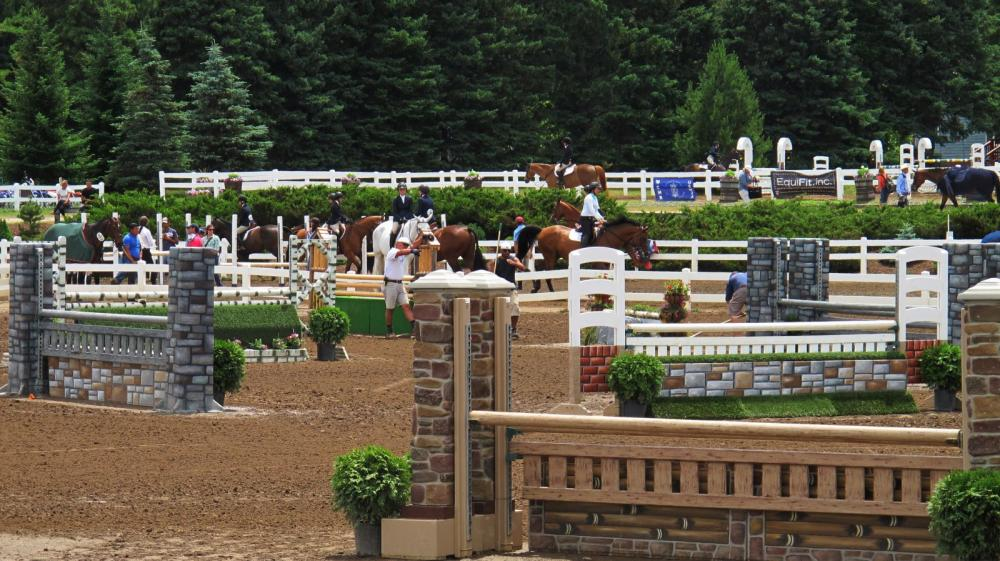 The best in show jumping descend on Lake Placid at the end of June for two full weeks