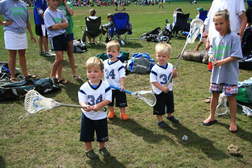 Kids are the future of lacrosse!