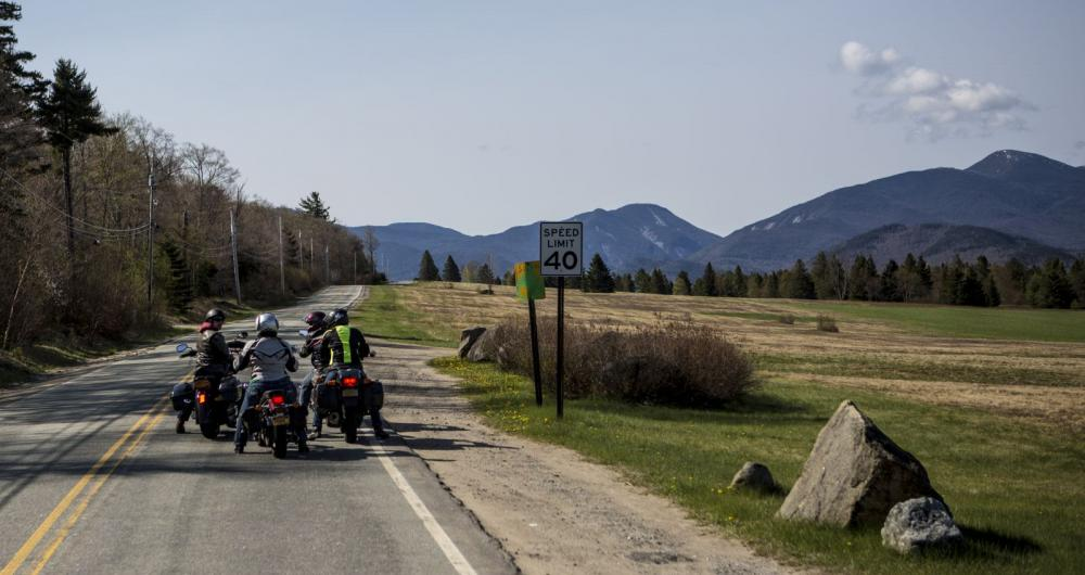 Take this scenic detour and you'll end up at the ADK Loj!