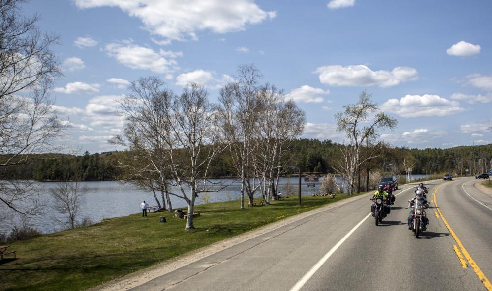 Touring the Adirondacks via motorcycle