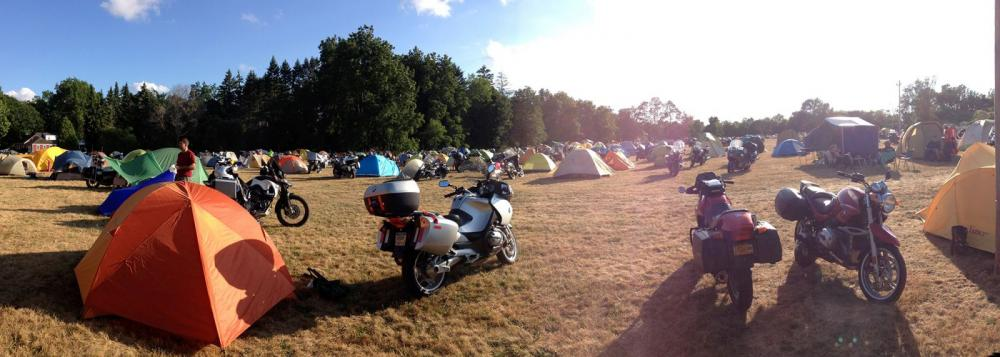 Motorcycle GROUP camping