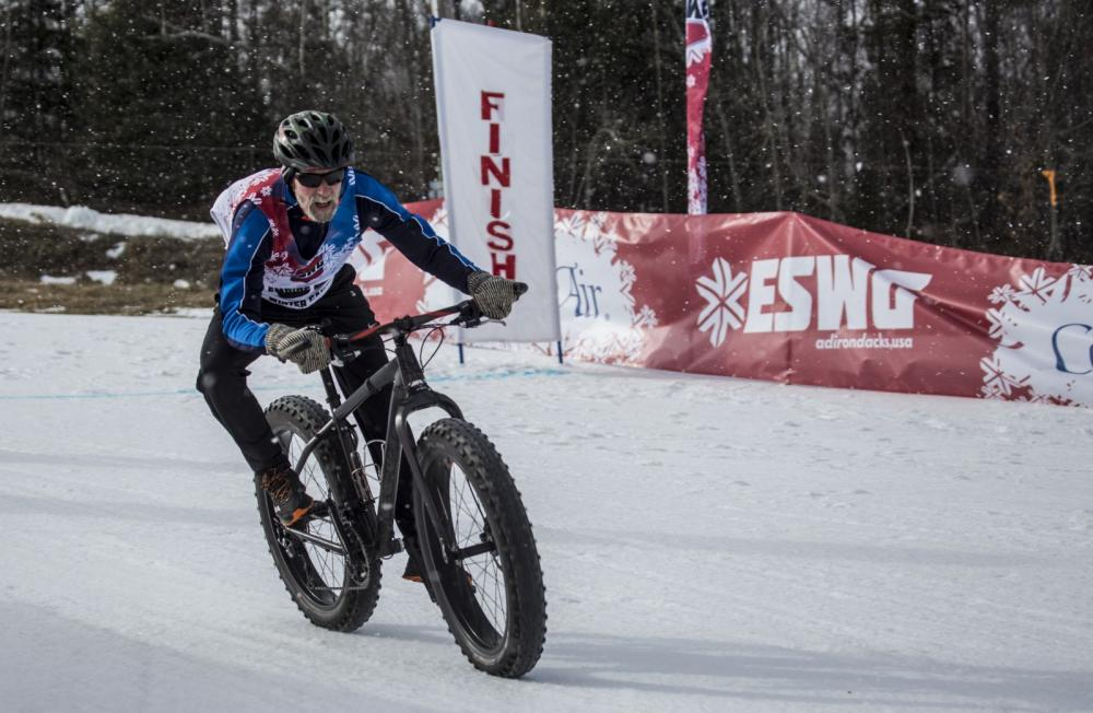 My father is competing in the fat tire bike race at the 2016 Empire State Winter Games. I can't wait to try out fat tire biking. I think I can keep up!