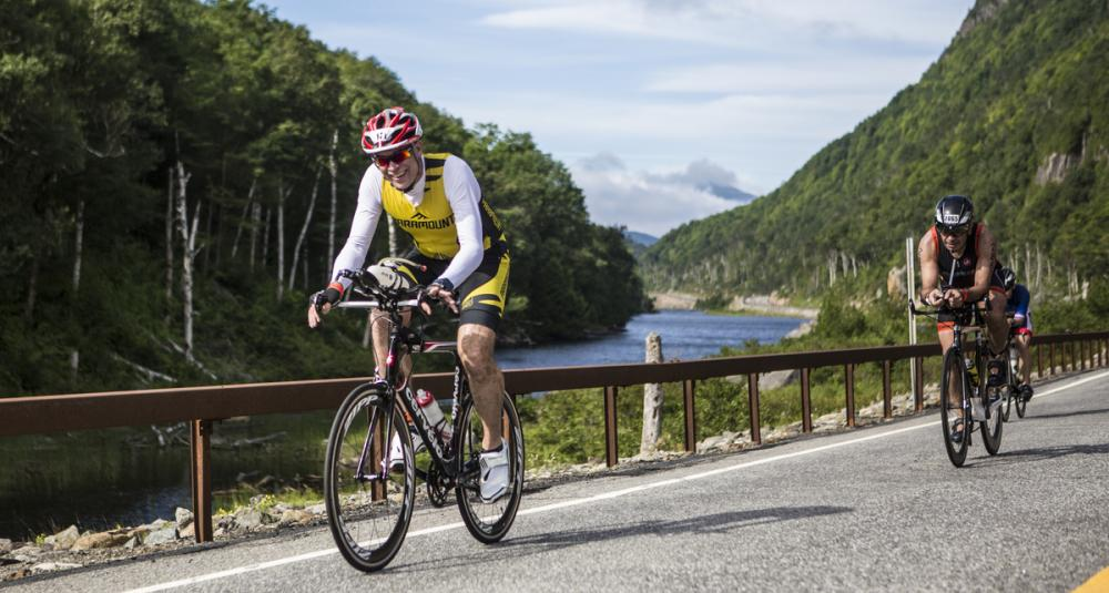 The Ironman route passes spectacular scenery all the way along the bike route