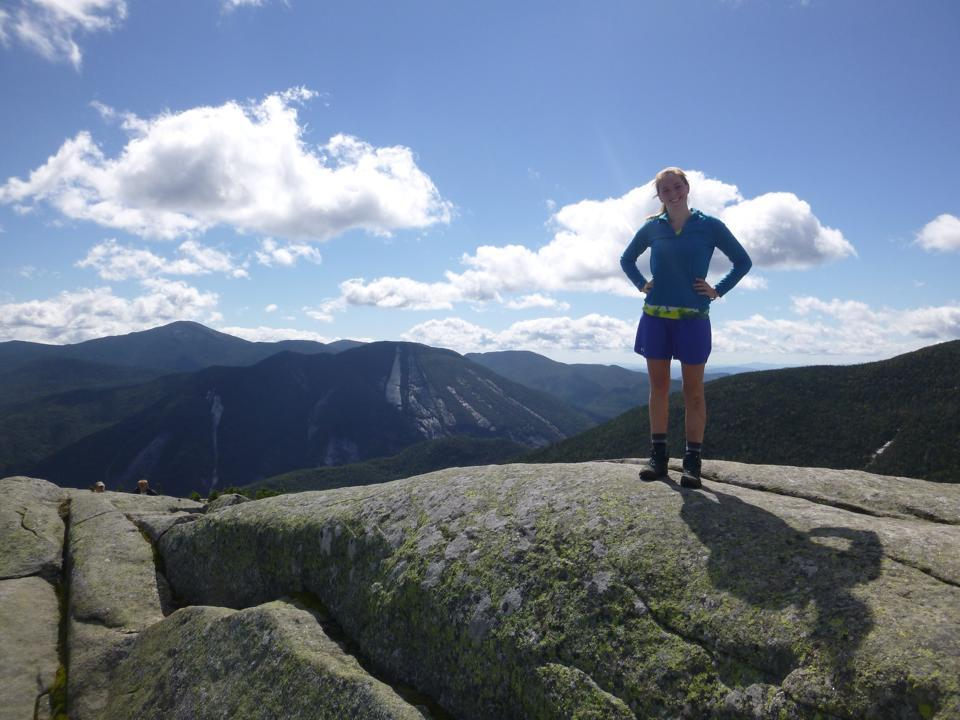 Wright Peak: One of the many amazing views you can run to.