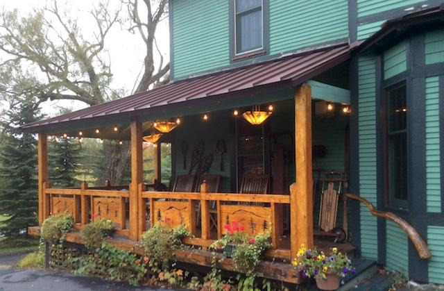 It is a sweet surprise to discover this hidden B&B so close to Lake Placid's dining and shopping.