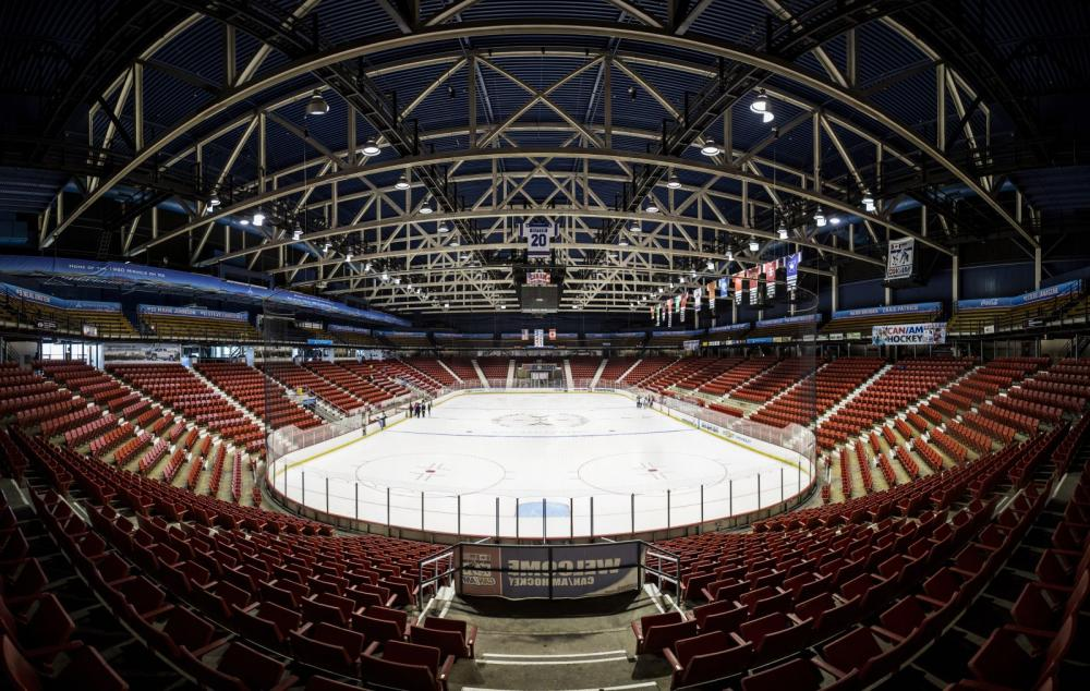 The 1980 Herb Brooks Arena, where the famous