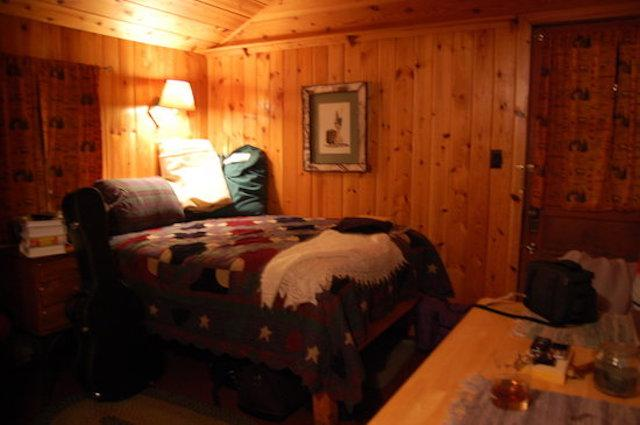 Van Hoevenberg Lodge & Cabins are located in their own forest.