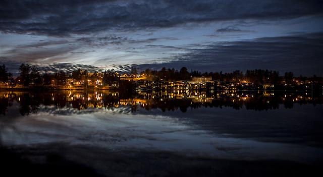 Take a romantic walk around Mirror Lake to catch the sunset. There's 2.7 miles of possible