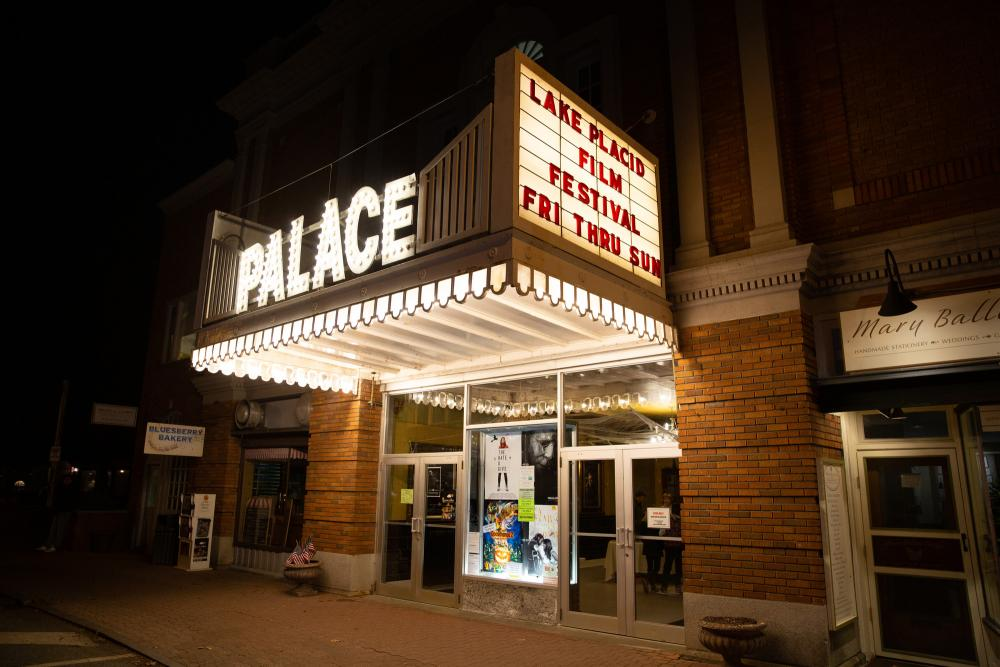 The Palace Theatre in Lake Placid.