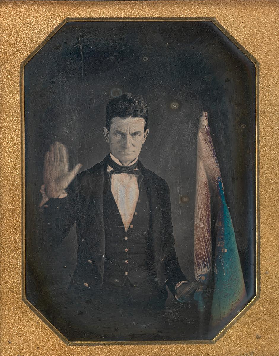 John Brown. Image courtesy Library of Congress.