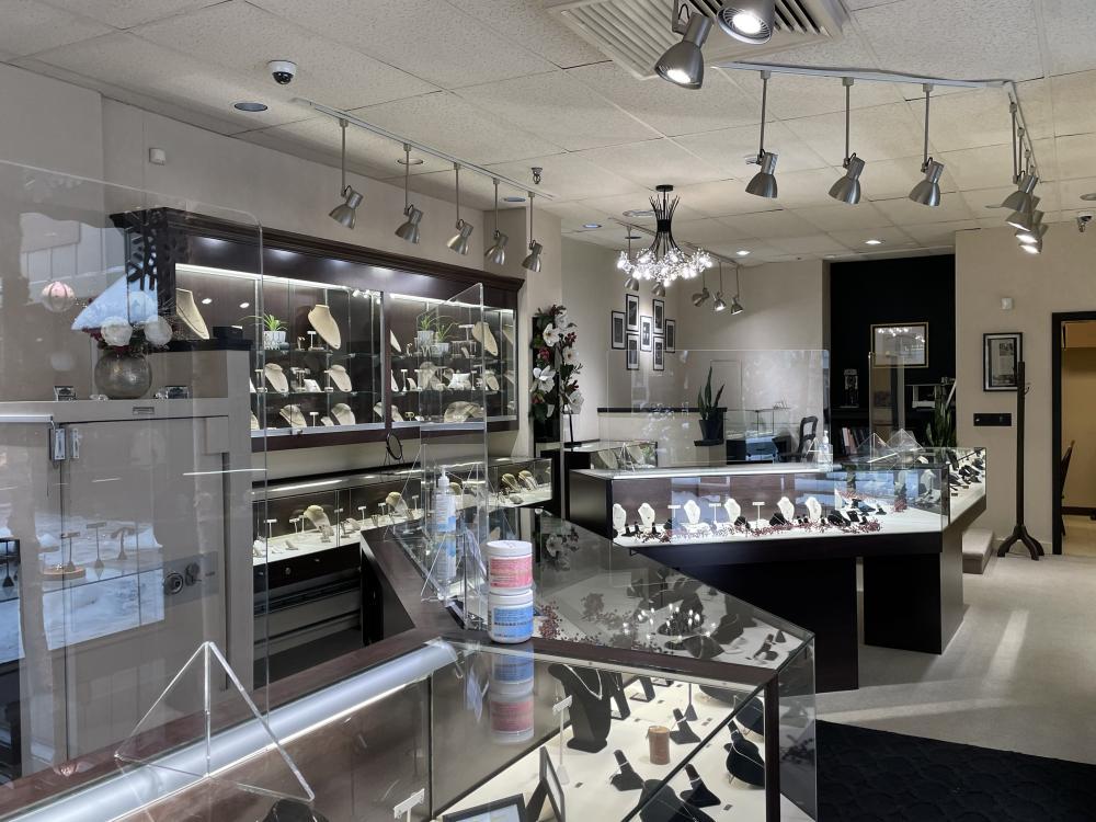 Inside the new Darrah Cooper Jewelers.