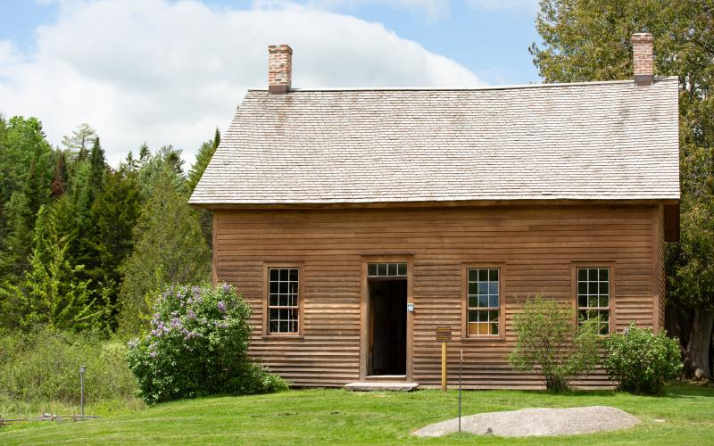 See the actual John Brown cabin.