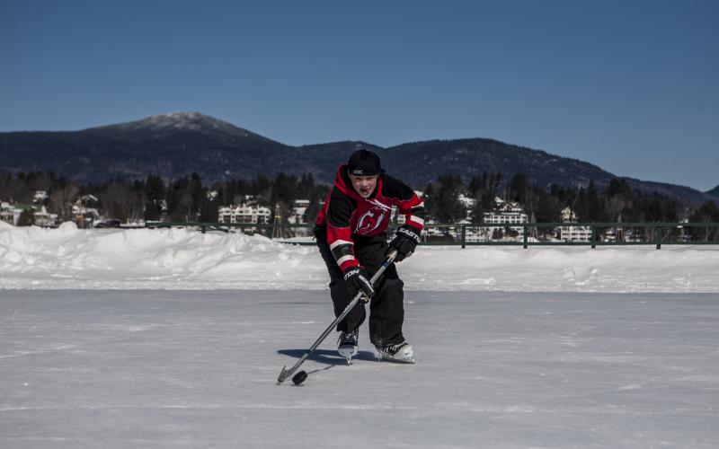 And pond hockey, too!