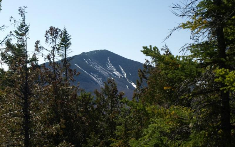 Whiteface Mountain can be seen from here