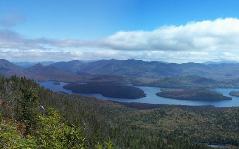 Lovely views from the summit of the McKenzie Mountain Wilderness.